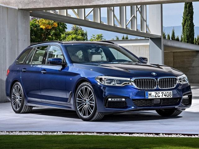 BMW 5-Series Touring 2017 có giá từ 2,2 tỷ đồng - 1