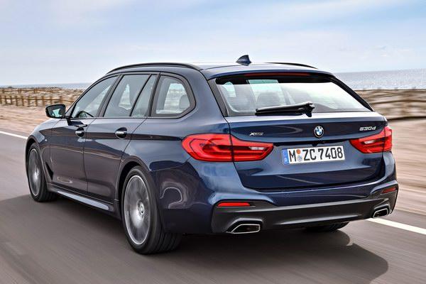 BMW 5-Series Touring 2017 có giá từ 2,2 tỷ đồng - 3