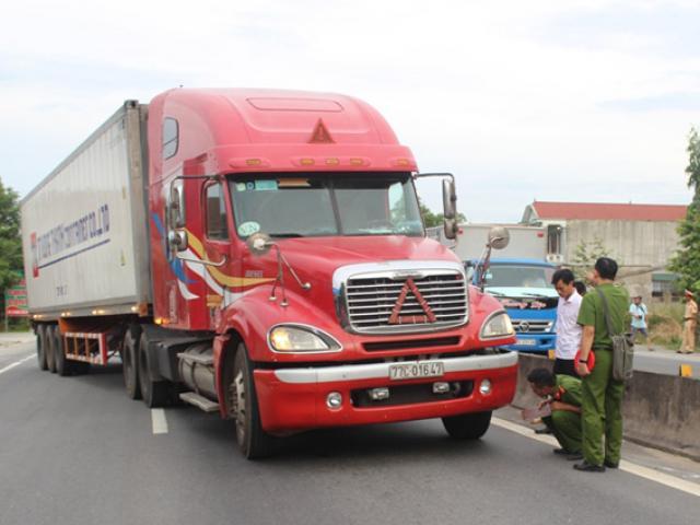 Sức khỏe Thượng úy CSGT bị xe container suýt chẹt chết tiên lượng xấu