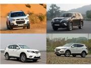 Tin tức ô tô - 4 chiếc xe SUV hàng đầu, giá dưới 1 tỷ đồng tại Việt Nam