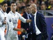 Bóng đá - Real: Zidane quan trọng nhất, Ronaldo có hay không, không quan trọng
