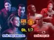"Huyền thoại Barca – MU: Ro ""vẩu"" đấu Dwight Yorke"