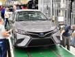Toyota Camry 2018 bắt đầu được sản xuất