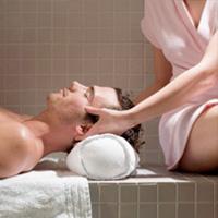 Cận cảnh massage xông hơi