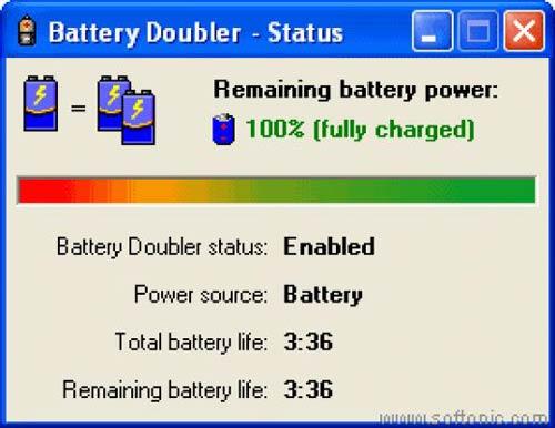 Phần mềm nhỏ giúp tiết kiệm pin laptop gấp 2 lần - 1