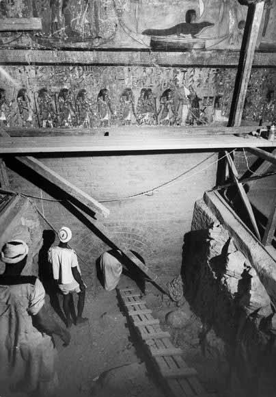 Phát hiện đường hầm bí mật lăng Pharaoh - 3