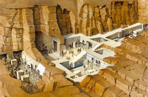 Phát hiện đường hầm bí mật lăng Pharaoh - 5