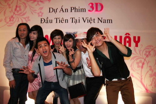 """Hoài Linh đóng phim ma 3D với """"hot girl"""" Elly Trần - 3"""