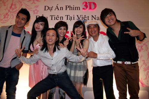 """Hoài Linh đóng phim ma 3D với """"hot girl"""" Elly Trần - 2"""