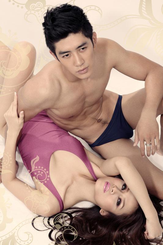 """Thái Hà & Cao Lâm Viên """"sẹc xy"""" với đồ bơi - 9"""