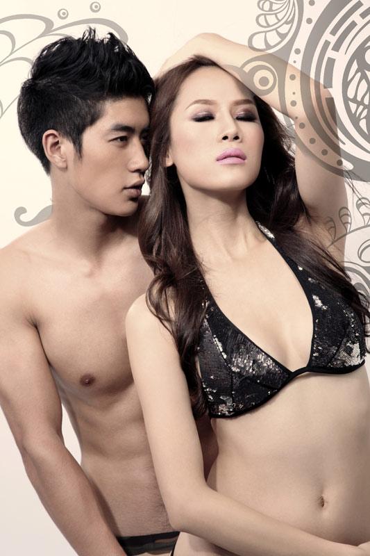 """Thái Hà & Cao Lâm Viên """"sẹc xy"""" với đồ bơi - 11"""