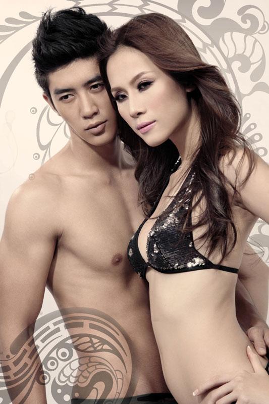 """Thái Hà & Cao Lâm Viên """"sẹc xy"""" với đồ bơi - 15"""