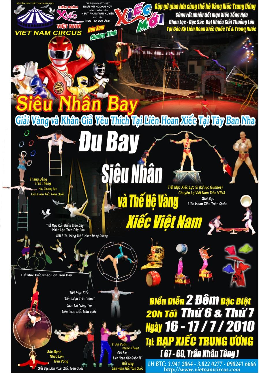 5 anh em siêu nhân và thế hệ vàng xiếc Việt Nam - 2