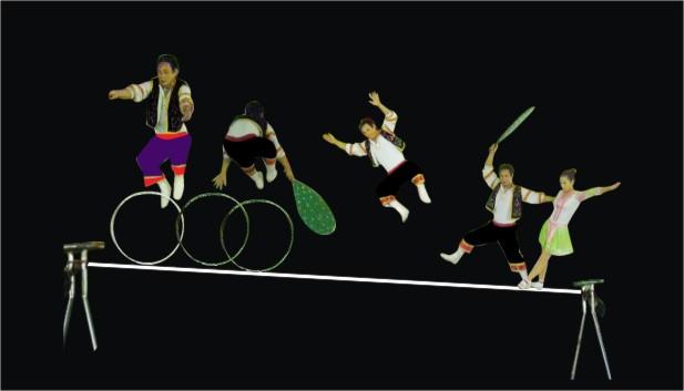 5 anh em siêu nhân và thế hệ vàng xiếc Việt Nam - 3