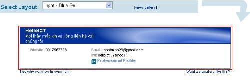 Mẹo thêm chữ ký vào Gmail và Yahoo!Mail - 2
