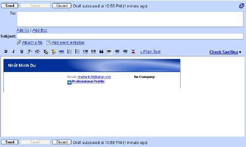 Mẹo thêm chữ ký vào Gmail và Yahoo!Mail - 3
