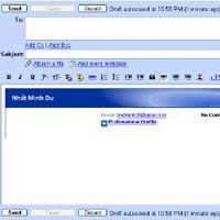 Mẹo thêm chữ ký vào Gmail và Yahoo!Mail