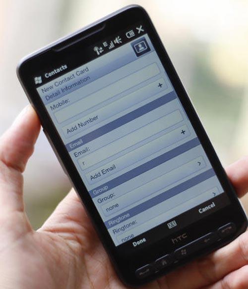 Đánh giá điện thoại HTC HD2 - 4