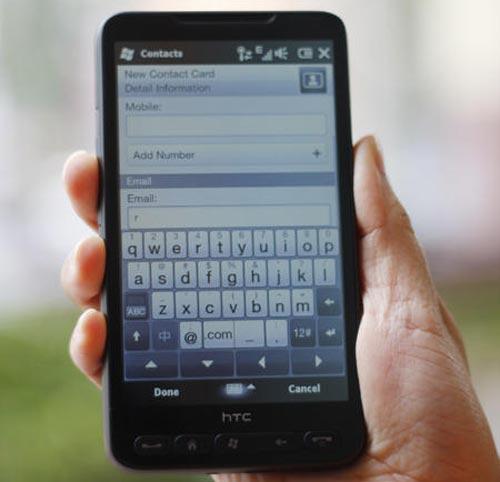 Đánh giá điện thoại HTC HD2 - 10