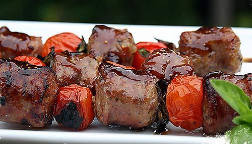 Tiệc nướng: Xúc xích xiên chua ngọt - 3
