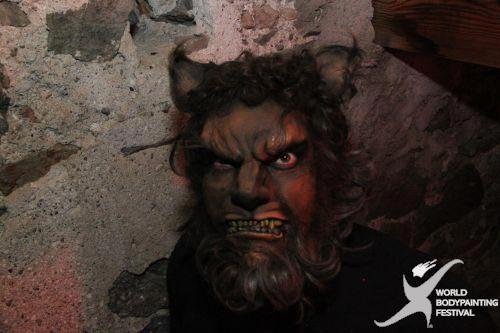 Những gương mặt kỳ quái tại lễ hội Body Painting 2010, Phi thường - kỳ quặc, Body Painting 2010, chuyện lạ, gương mặt, kỳ quái, lễ hội, BodyCircus, đêm hội, sáng tạo, độc đáo