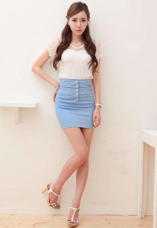 Thời trang công sở: Lịch lãm chân váy - 18