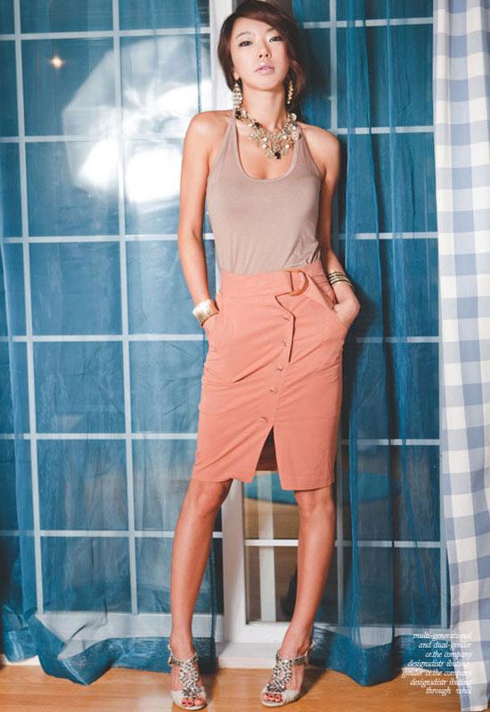 Thời trang công sở: Lịch lãm chân váy - 19