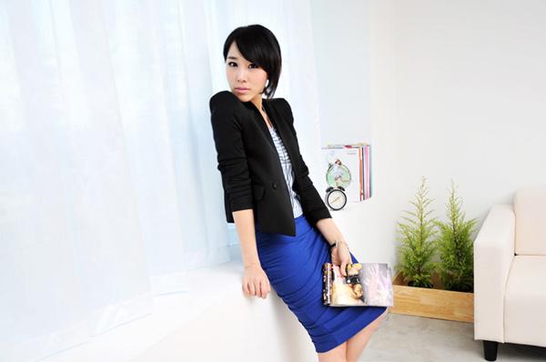 Thời trang công sở: Lịch lãm chân váy - 4