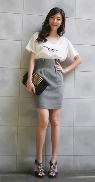Thời trang công sở: Lịch lãm chân váy - 9