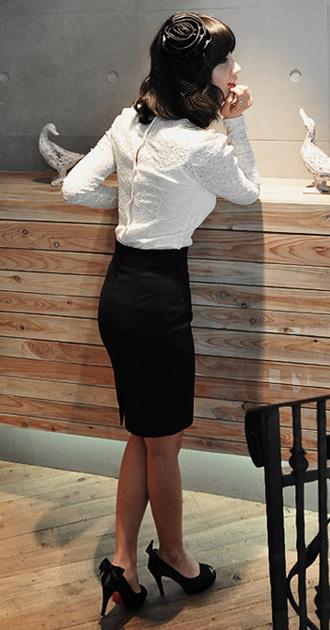 Thời trang công sở: Lịch lãm chân váy - 12