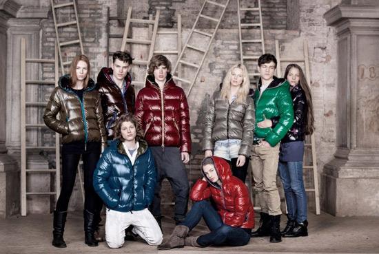 Mùa thu đông sặc sỡ áo phao - 2