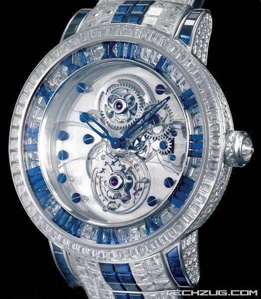 Ngắm đồng hồ kim cương độc nhất thế giới! (P1) - 1