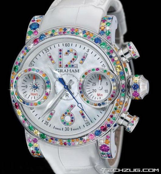 Ngắm đồng hồ kim cương đắt giá nhất thế giới (Phần 2) - 3
