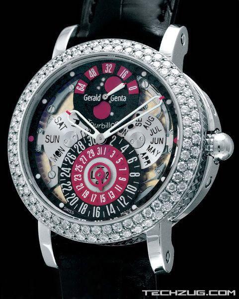 Ngắm đồng hồ kim cương đắt giá nhất thế giới (Phần 2) - 4