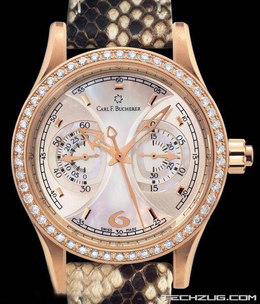 Ngắm đồng hồ kim cương đắt giá nhất thế giới (Phần 2) - 5