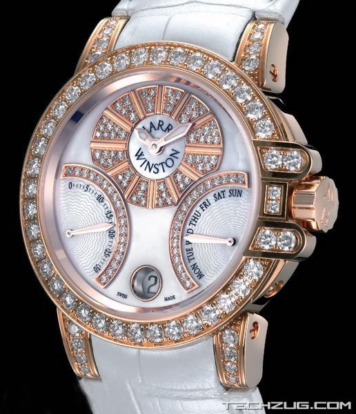 Ngắm đồng hồ kim cương đắt giá nhất thế giới (Phần 2) - 8