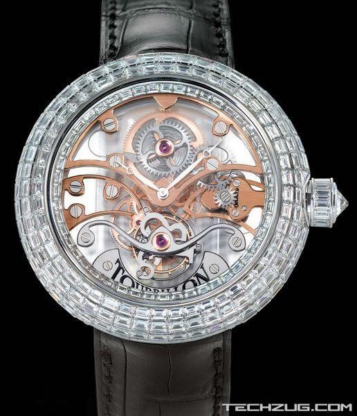 Ngắm đồng hồ kim cương đắt giá nhất thế giới (Phần 2) - 13