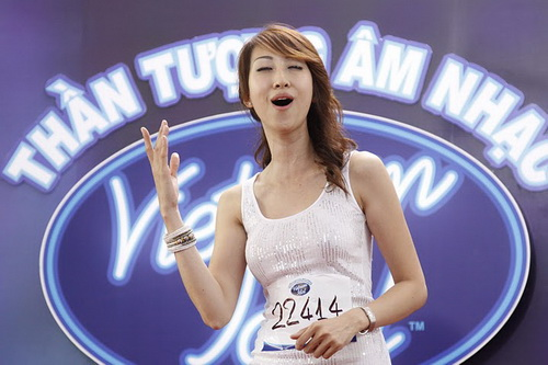 Siêu mẫu Thanh Hằng đi thi Vietnam Idol 2010? - 10