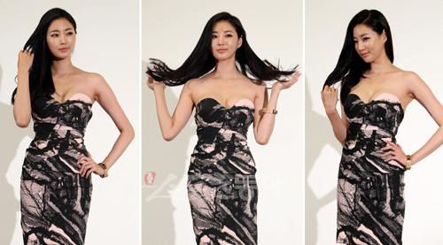 Cựu hoa hậu Hàn Quốc khoe vòng 1 gợi cảm - 11