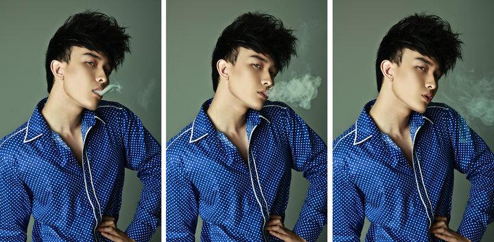 """Tạo hình sexy như """"hot boy"""" Chan Than San - 6"""