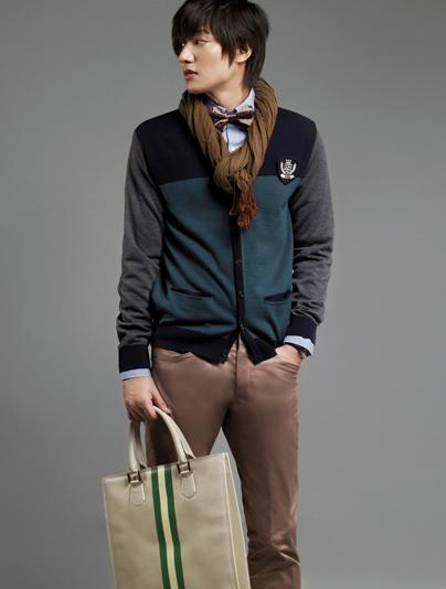 Lee Min Ho bảnh bao với thời trang Hàn Quốc - 1