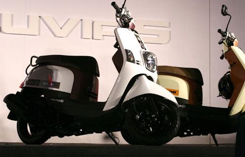 Yamaha trình làng 2 mẫu xe ga mới - 1