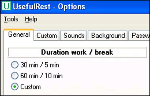 Phần mềm giúp mắt nghỉ ngơi khi ngồi máy tính lâu - 1