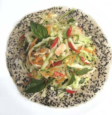 Mê mẩn gỏi gà trộn bắp cải, Ẩm thực, am thuc, gỏi gà, thịt gà, món ngon, húng quế, bánh tráng trộn, dưa leo
