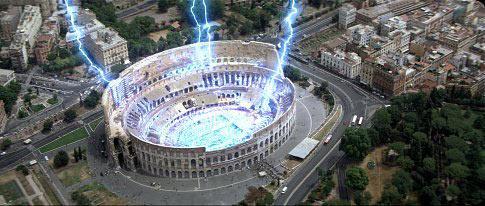 Video phim: Đấu trường La Mã bị 'oanh tạc' - 2