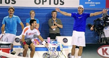"""Nadal và Djokovic tập """"lạ"""" tại Rogers Cup - 1"""