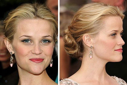 Video làm đẹp: Búi tóc đẹp như Reese Witherspoon - 1