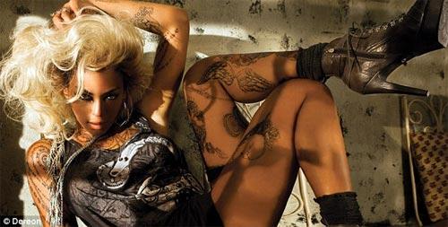 Beyonce và những hình ảnh 'sốc' nặng - 2