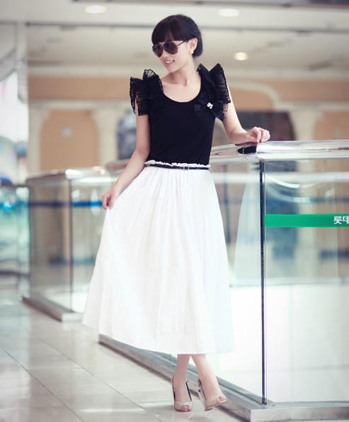 Chọn váy dài cho mùa Thu hiền - 2