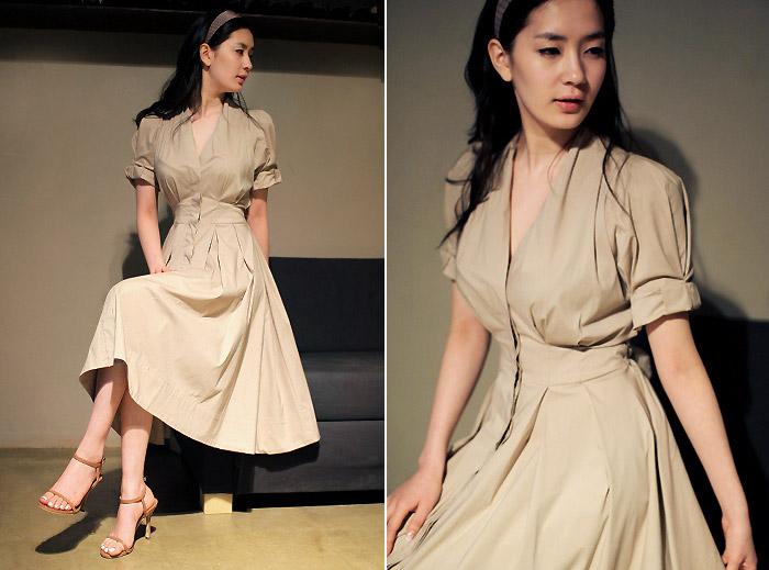Chọn váy dài cho mùa Thu hiền - 9
